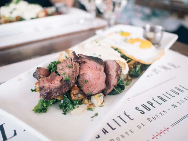 BRUNCH EDITION: {thyme to indulge bistro}